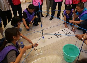 Group building activities to improve team cohesion