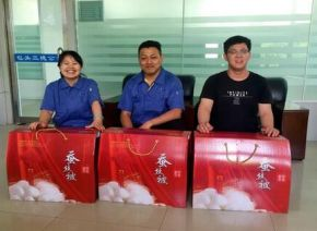 The trade union of rare earth high tech Zone and the Safety Supervision Bureau organized a special o