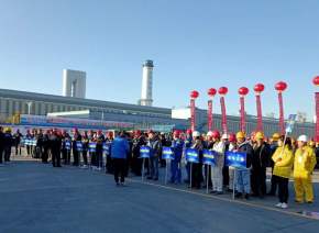In October 2020, he participated in the professional skill forklift competition of Baotou employees